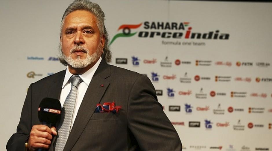 Vijay Mallya é dono da Force India (Foto: Reprodução)