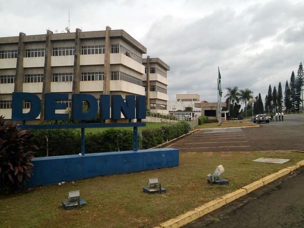 Fachada da empresa Dedini em Piracicaba (Foto: Wesley Justino/EPTV)