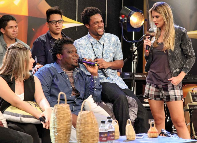 Big, vocalista da Dois Africanos, fala sobre participação no SuperStar (Foto: Fabiano Battaglin/Gshow)