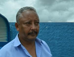 Celino, técnico do Guajará (Foto: Aline Lopes)