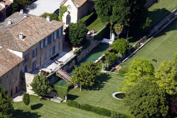 Chateau francês de Angelina e Pitt (Foto: Reprodução)