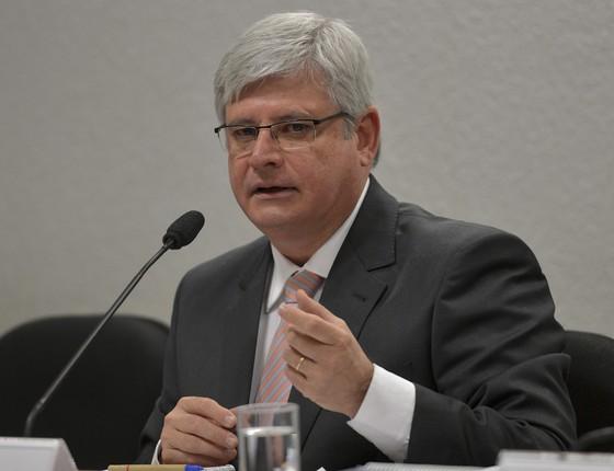 O Senado aprovou o nome de Rodrigo Janot para o cargo de procurador-geral da República (Foto: Wilson Dias/ABr)
