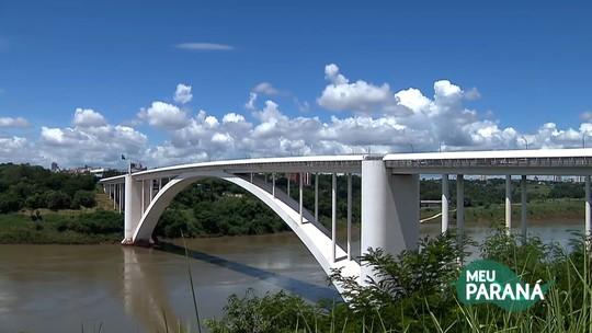 No 'Meu Paraná' deste sábado (1), você vai conhecer a história da Ponte da Amizade