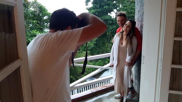 Cassio Reis e Fernanda Vasconcellos (Foto: Daniel Delmiro / Divulgação)