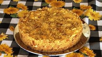 """No """"Cozinha do Brasil"""" tem uma deliciosa torta de frango (Foto: Reprodução TV Fronteira)"""