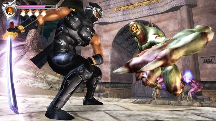 Ninja Gaiden surpreendeu ao ressuscitar a franquia com belos gráficos no Xbox (Foto: Reprodução/Gamers Hell)