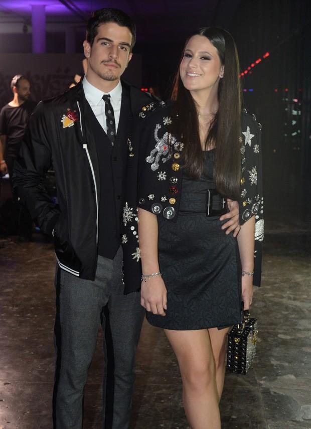 Os irmãos Enzo Celulari e Sophia Raia (Foto: Francisco Cepeda/AgNews)