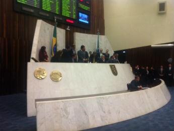 Apuração foi feita pela Comissão Especial da eleição para o TCE (Foto: Bibiana Dionísio/ G1)
