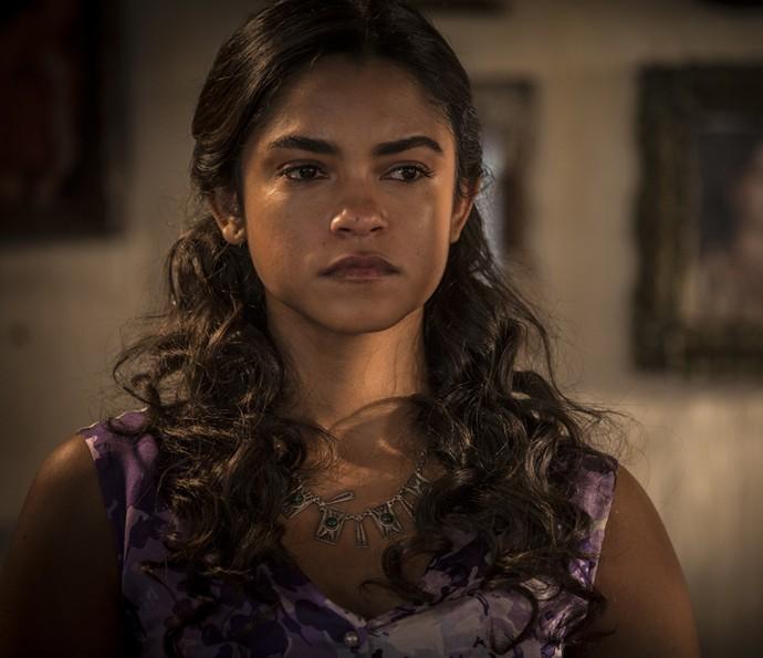 Luzia ameaça Tereza (Foto: Inácio Moraes/Gshow)