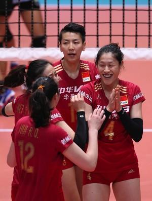 China vôlei Torneio de Montreux (Foto: Divulgação/Montreux Volley Masters)