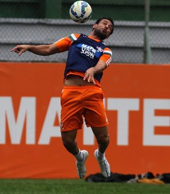 Fred no treino do Fluminense nas Laranjeiras (Foto: Nelson Perez / Fluminense FC)