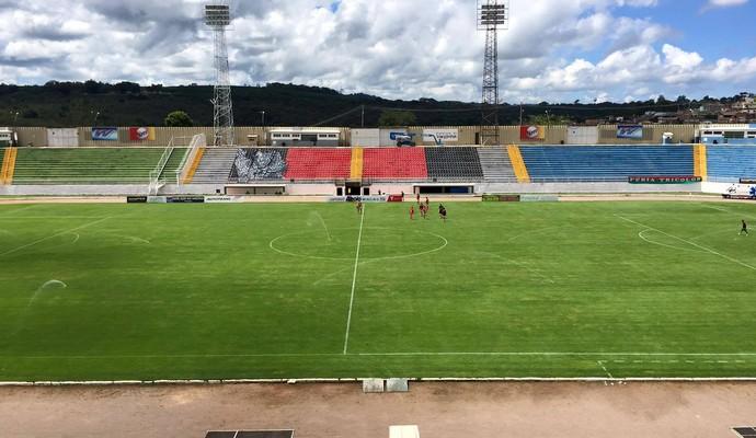 Estádio Municipal de Varginha, Estádio Melão (Foto: Ernane Fiuza/EPTV)