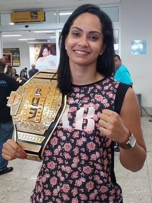Barbara Nepomuceno foi campeã no WGP (Foto: Richard Pinheiro/GloboEsporte.com)