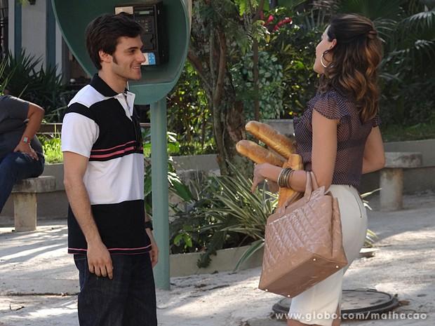Luciana é pressionada por Martin a aceitar um acordo (Foto: Malhação / TV Globo)