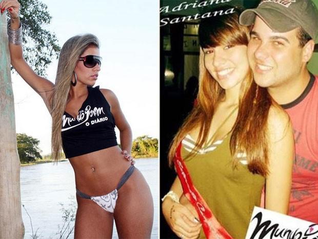 Ex-BBB Adriana em fotos do baú (Foto: Instagram/ Reprodução)