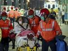 Colisão de balsa deixa 100 feridos em Hong Kong