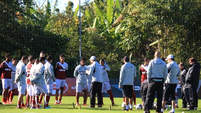 Figueirense treinamento (Foto: Luiz Henrique/ Figueirense FC)