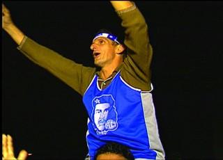 Edil Highlander fez o gol do título (Foto: Reprodução/Tv Sergipe)