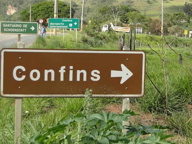 A partir de 2005, movimento do Aeroporto de Confins e da cidade de Confins decolaram (Foto: Raquel Freitas/G1)