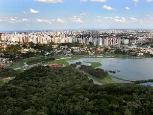 Parque Barigui foi escolhido em função da área disponível (Foto: Michel Willian/SMCS)