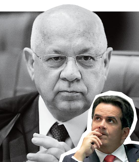 A Polícia Federal encaminhou ao Supremo Tribunal Federal pedido de indiciamento contra o presidente do PP, o senador Ciro Nogueira (no detalhe) (Foto: Ag. Senado, Dida Sampaio/Estadão Conteúdo e Ricardo Borges/Folhapress )