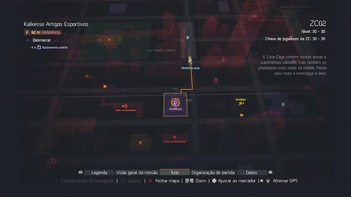 The Division: encontre baús em pontos de referência e áreas contaminadas (Foto: Reprodução/Victor Teixeira)