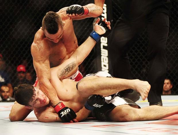 UFC São Paulo vitor belfort e michael Bisping (Foto: Marcos Ribolli / Globoesporte.com)