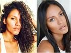 Emanuela De Paula mostra cabelos naturais e comemora: 'Beleza negra'