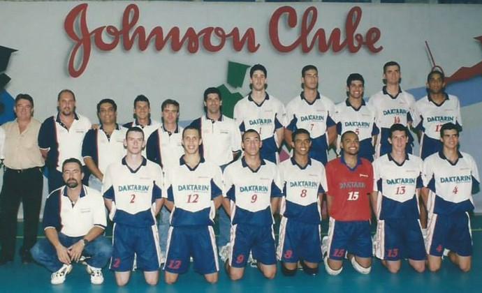 São José Vôlei 2001 (Foto: São José Vôlei/Divulgação)