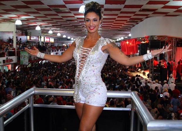 A musa Milena Nogueira (Foto: Anderson Borde/AgNews)