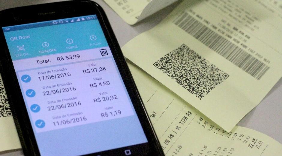 App para doar notas fiscais (Foto: Denise Casatti/Assessoria de Comunicação do ICMC/USP)