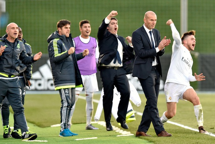 Zidane técnico Real Madrid (Foto: Getty Images)
