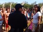 Falta de água gera revolta em detentos e familiares protestam no AC