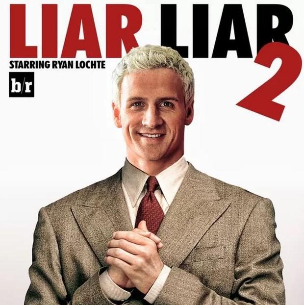 Caso Ryan Lochte ganha memes na web (Foto: Reprodução / Bleacher Report)