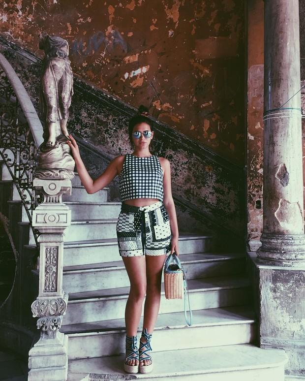 Bruna Marquezine em Cuba (Foto: Reprodução / Instagram)