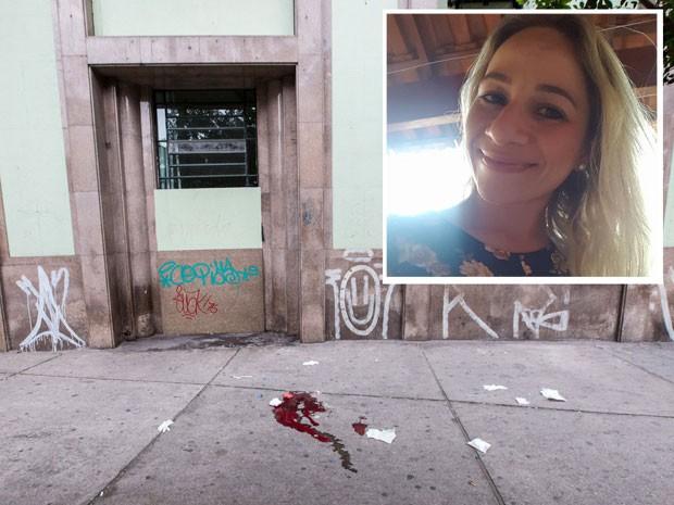 Enfermeira foi morta na porta da UBS República, em São Paulo (Foto: Sammy Bedouin/Futura Press/Estadão Conteúdo)