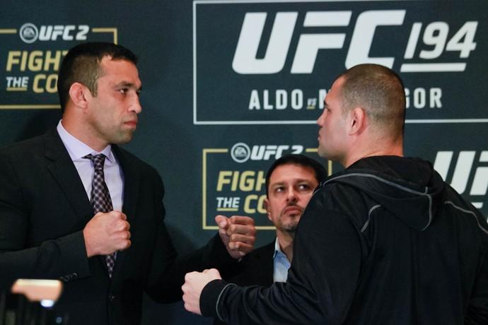 Fabricio Werdum x Cain Velasquez Media Day UFC (Foto: Adriano Albuquerque)