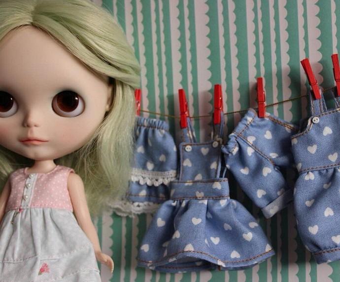 Neila cria e costura as peças (Foto: Arquivo Pessoal)