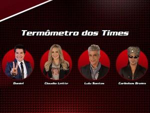 Termômetro Técnicos (Foto: The Voice Brasil)