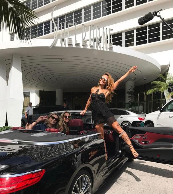 Sabrina Sato aproveita dias no hotel Shelborne South Beach (Foto: Reprodução Instagram)