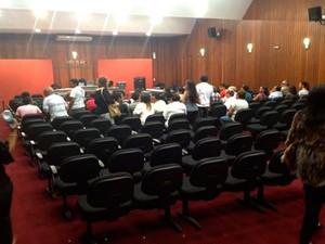 Júri popular do Caso F. Gomes segue com julgamento de João Francisco, o 'Dão'  (Foto: Marcos Dantas)