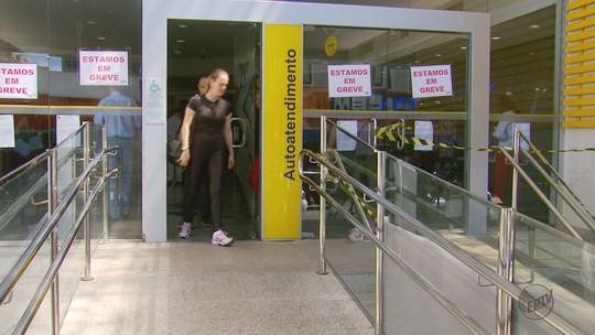 Greve dos bancários atinge pelo menos 40% das cidades no Sul de MG