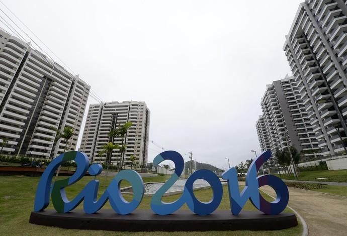 Prédios da Vila Olímpica na Barra - Olimpíada Rio 2016 (Foto: André Durão)