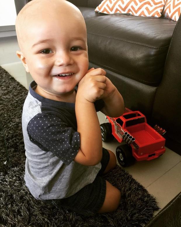 Johnny, filho do ilusionista Criss Angel (Foto: Reprodução/Instagram)
