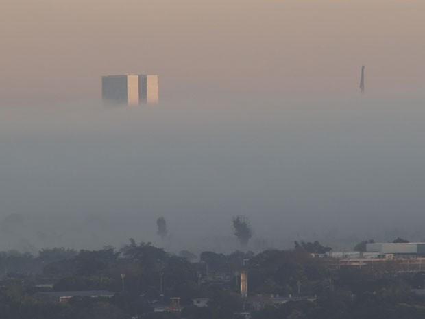 Resultado de imagem para neblina em brasilia