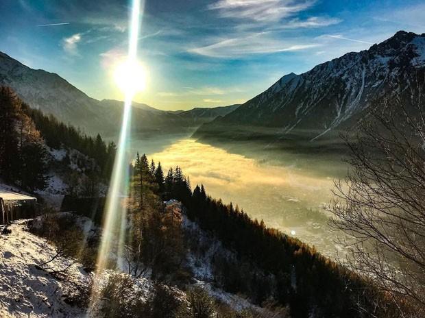 A cidade mais postada no Instagram no inverno (Foto: Divulgação)