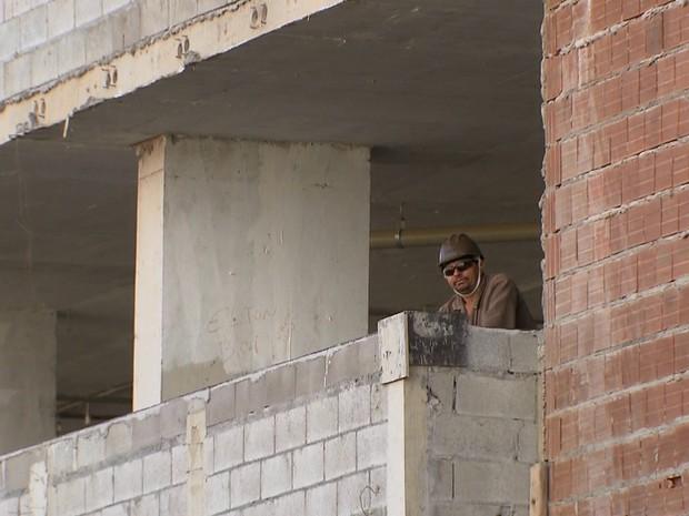 BDBR - Construção civil (Foto: Reprodução TV Globo)