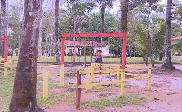 Local de recreação dentro do Parque Natural (Foto: Amazônia TV)
