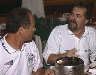 Felipão Grêmio Libertadores 95 (Foto: Reprodução/RBS TV)