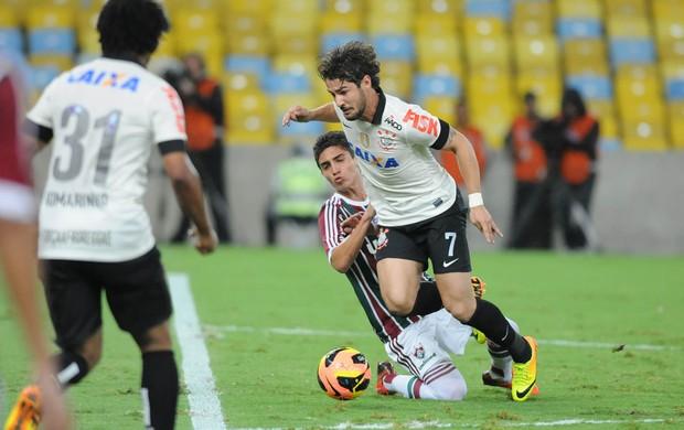 Alexandre Pato, Fluminense x Corinthians (Foto: André Durão)